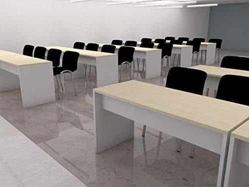 Mesas para aulas para 3 personas. Ideal para oficinas escuelas academias aulas reuniones ✅