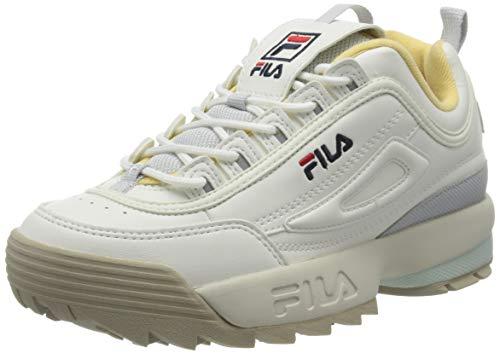 Fila Damen Disruptor CB Low Wmn 1010604-02X Sneaker, White 02x, 38 EU