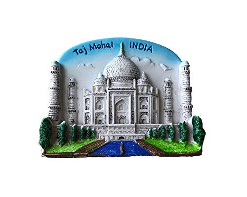 Taj Mahal India 3D-Kühlschrankmagnet, Souvenirs, Aufkleber, handgefertigt, Heim- und Küchendekoration, Indien, Kühlschrankmagnet
