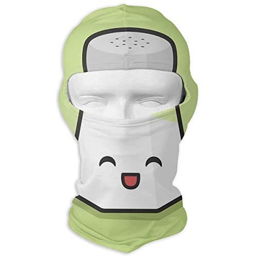 N/A volledig gezicht masker schattig zout Shaker kap zonnebrandcrème masker dubbele laag koud voor mannen en vrouwen