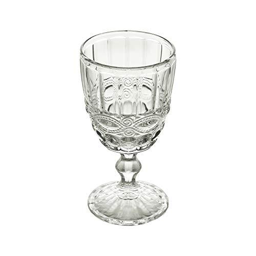 Conjunto 6 Taças para Vinho de Vidro Libélula Lyor Transparente 265Ml