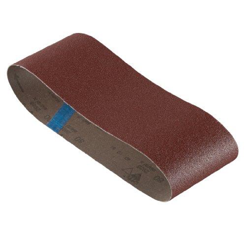 BOSCH SB6R080 3-Piece 80 Grit 4 In. x 24 In. Sanding Belts