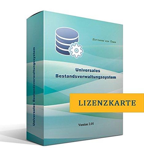Universales Bestandsverwaltungssystem [nur Lizenzschlüssel, ohne Datenträger]