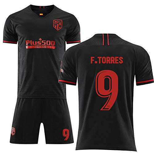 Crstal 2019-2020 F.Torres 9# Youth Trikot and Shorts Set(Size:Groß)