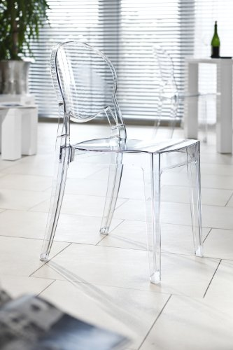 SalesFever Design Stuhl Igloo transparent