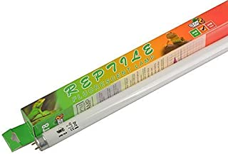 LUCKY HERP 10.0 Fluorescent Desert Terrarium Bulb Lamp Tube,T8,18 Watt,24 Inches