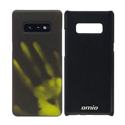 for Galaxy Note8 Case, Omio Thermal Sensor Heat Induction Temperature Sensing Cover Changing Change Color Ultra Thin Matte PC Back Slim Fit Anti-Scratch Protective Shell for Samsung Galaxy Note 8