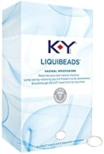 KY Liquibeads Long Lasting Ovule Vaginal Moisturizer, 6 Ovule Inserts (Quantity of 3) by Unknown