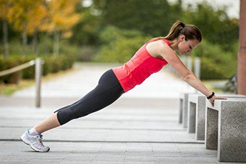 Garmin vívosmart HR Fitness-Tracker – integrierte Herzfrequenzmessung am Handgelenk, Smart Notifications, Schwarz, M – L (13,7-18,8 cm) - 11