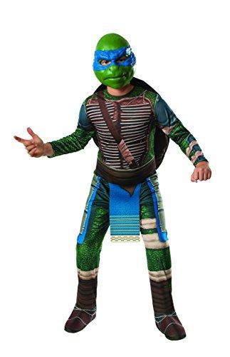 Rubies costume da Bambini Tartarughe Ninja: Leonardo taglia L (anni 8-10)