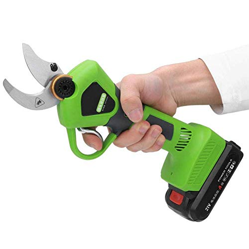 Cheapest Price! CKAN Gardening Pruning Shears,Lithium Battery Rechargeable Wireless Electric Scissor...