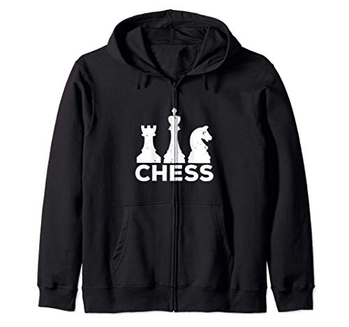 Chess Lover Funny Gift - Chess ジップパーカー