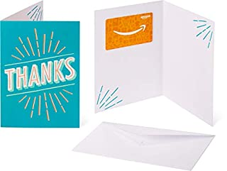 Amazon.com Gift Card in a Greeting Card - Thanks Design (B07F5XM2GZ) | Amazon price tracker / tracking, Amazon price history charts, Amazon price watches, Amazon price drop alerts