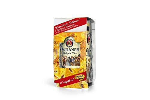Paulaner Weißbier - Oktoberfestbier mit Maßkrug (1,0l; 6% vol.)