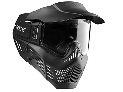 VForce Adultos Armor Gen3 Máscara, Negro, One Size