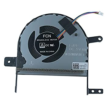 Rangale Replacement CPU Cooling Fan for ASU S15 S510U X510U S510UQ S510UA X510UN X510UQ X510UR X510UAR F510U F510UA S5100 S5100U S5100UQ Series Laptop