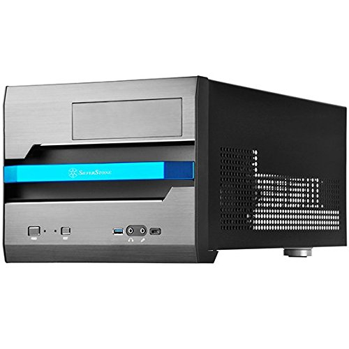 SilverStone SST-SG12B - Carcasa de ordenador cubo Sugo Micro ATX, negro