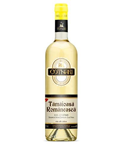 Cotnari | Tamaioasa Romaneasca – Rumänischer Weißwein süß 0.75 L - Black Label - D.O.C. – C.T.
