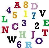 FMM Upper Case Block Alphabet & Number Tappit...