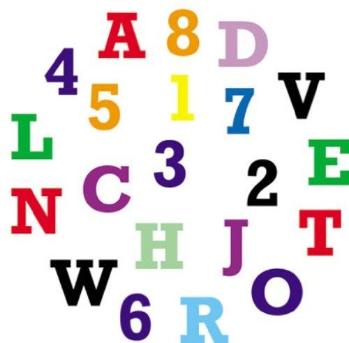 FMM Sugarcraft Emporte-pièces alphabet et chiffres