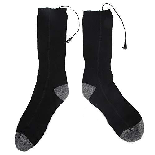 Presente románticoCalcetines calefactores para, Calcetines eléctricos duraderos de alta calidad de tamaño medio, calcetines calefactores elásticos, para hombre, mujer, cuidado de los pies, mantene