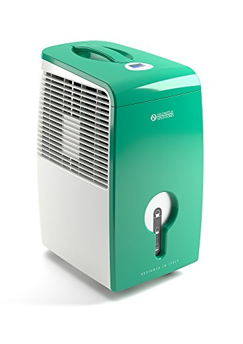 Olimpia Splendid 01645 Aquaria Thermo 22 Luftentfeuchter 22 Liter/Tag mit Laundry Mode, Pure System und HEPA-Filter, 100 m³