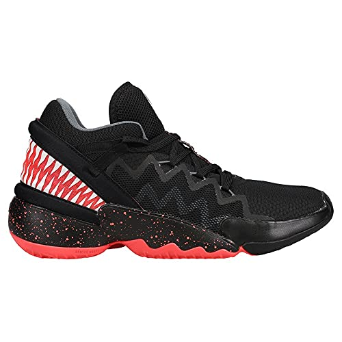 adidas Mens D.O.N. Issue #2 Venom Basketball Sneakers Shoes Casual - Black,Pink - Size 8.5 M
