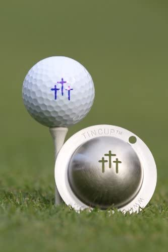 Special price for a limited time Tin Cup San Francisco Mall Divine Intervention Golf Stencil Marking Ball Steel