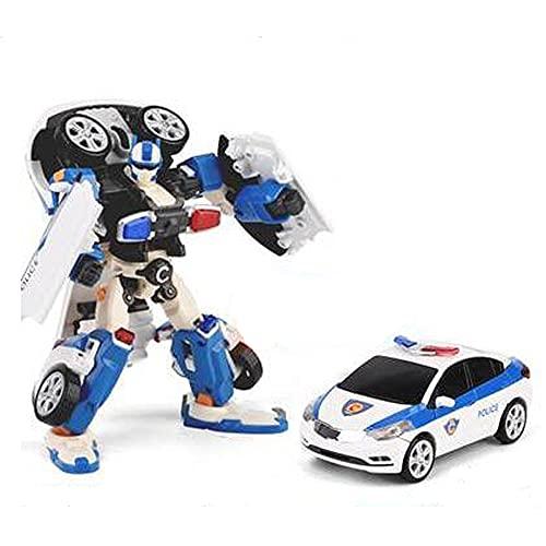 おもちゃ 変形 ロボット TOBOT 超能変形版 戦士C (画像色)