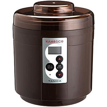 TANICA 醸壺(カモシコ) 温度調節(25~65℃) 発酵食メーカー 1200ml KS-12C
