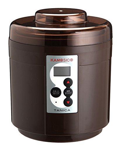 タニカ電器 発酵食メーカー 醸壺(カモシコ) ブラウン