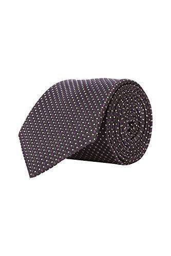 Louis Philippe Men's Tie (LPTICRGFF000247_Blue_Free Size)