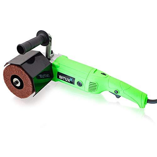 BITUXX® Satiniermaschine Schleifmaschine Poliermaschine Schleifer Bürstenmaschine 1500 Watt 1000-3000U/min