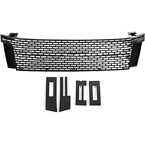 Rejilla de malla de radiador de coche compatible con Ranger T6 2012 2013 2014 accesorios de rejilla modificada para coche