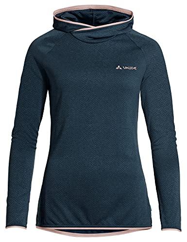 VAUDE Women's Miskanti LS T-Shirt II Camiseta, Dark Sea, 40 para Mujer