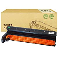 InkFen互換性ありOKI C810トナーカートリッジに対応OKI C810 C830DN MC860 C801 C821DNレーザープリンタードラムラック用,黒