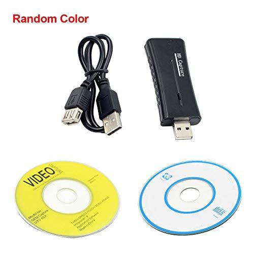 Mississ Video-HDMI-Aufnahmekarte, USB 2.0 1080P HD-Spielaufnahme, unterstützt Aufnahme- und Streaming-Software, Plug & Play, HDMI-Eingang, Videoanschlussadapter