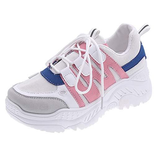 Luckycat Zapatillas de Mujer Zapatos de Corriendo Calzado Casual y Deportivo Volador...