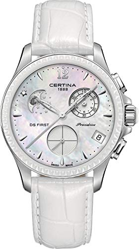 Certina DS First Lady Keramik Chrono Mondphase C030.250.16.106.00...