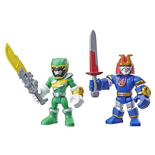 Playskool Heroes Power Rangers Green Ranger and Ninjor