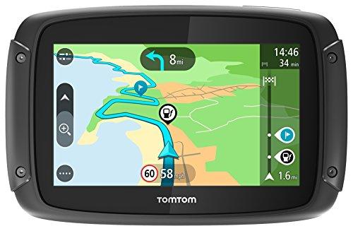 TomTom Rider 420 Motorrad-Navi (4,3 Zoll, mit kurvigen und bergigen Strecken Speziell für Motorräder, Karten-Updates, Europa 49 Länder, TomTom Traffic und Radarkameras, Freisprechen)