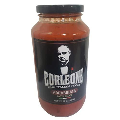 Corleone Fine Italian Foods Authentic Arrabiata, Marinara, Tomato Basil and Clemenza