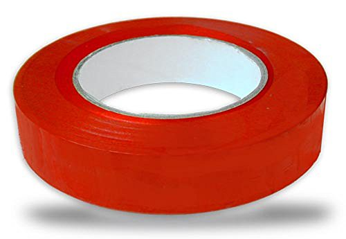 Cannon Sports Red 1-inch X 60 Yards Floor Marking Tape