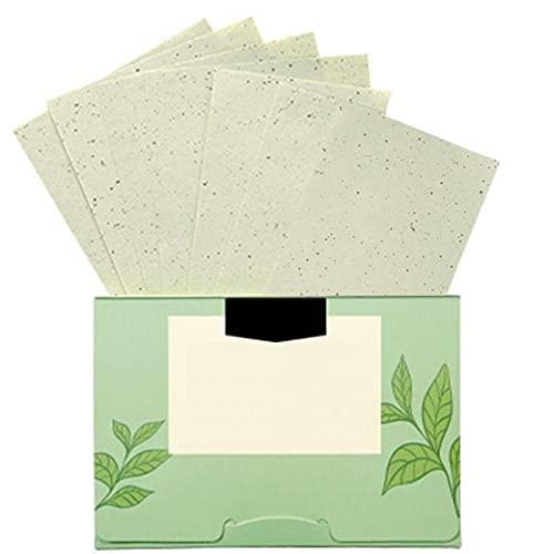les hommes de contrôle de l'huile de visage et les femmes soins de la peau de papier absorbant amovible pour enlever l'excès d'outils 100PCS