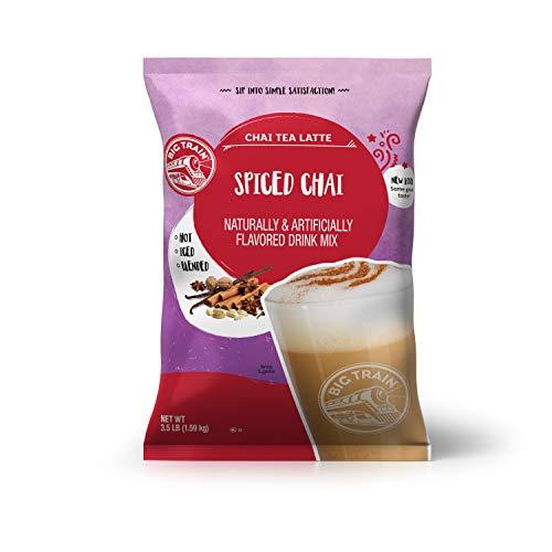 Big Train Spiced Chai Tea Latte Instant Powdered Mix, 3.5 Pound Bag