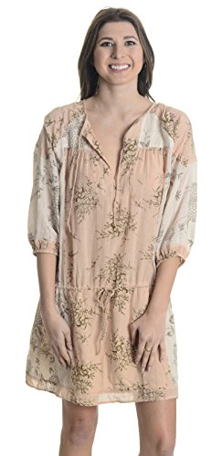 Ulla Johnson Women's Varca Floral Dress, Natural, 6