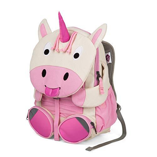 Affenzahn Großer Freund - Kindergartenrucksack für 3-5 Jährige Kinder im Kindergarten und Kinderrucksack für die Kita - Einhorn - Pink