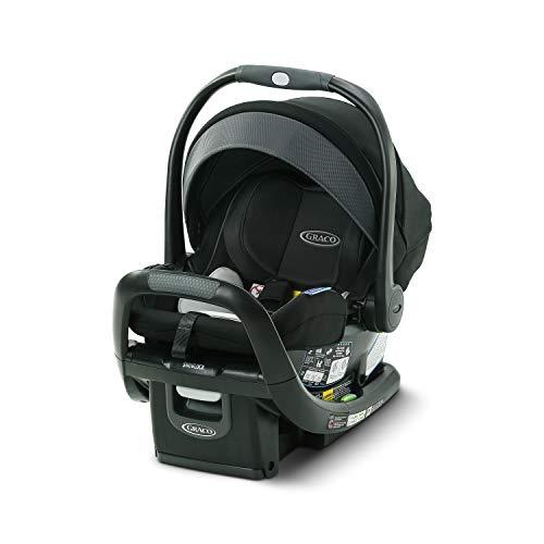 GRACO, SnugFit 35 DLX Infant Car Seat Baby Car Seat with Anti Rebound Bar, Spencer