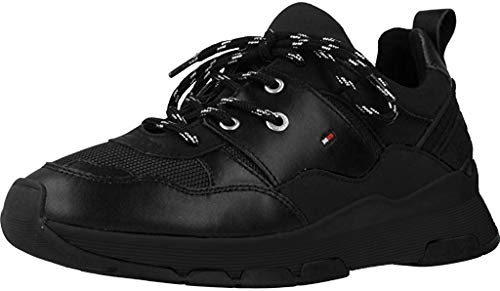 Tommy Hilfiger Sporty Chunky Sneaker, Zapatillas Mujer, Black Bds, 38 EU