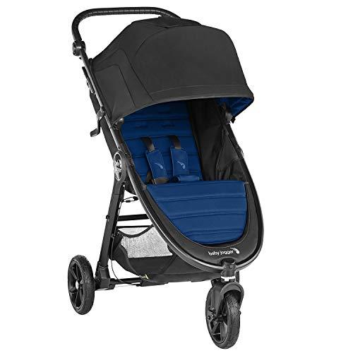 Baby Jogger City Mini GT2 leichter Kinderwagen | für jedes Gelände | Schneller Einhand-Faltmechanismus | Windsor (dunkelblau)